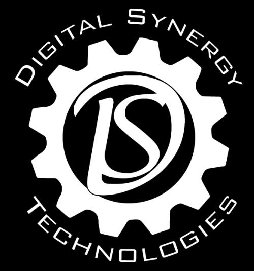 Digital Synergy Logo White (o45)